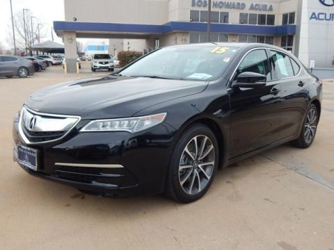 Certified Pre-Owned 2015 Acura TLX 3.5 V-6 9-AT P-AWS with Technology Package Sedan
