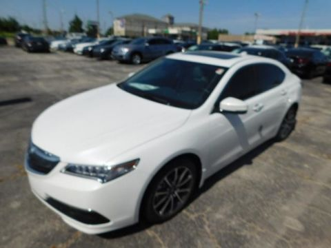 Certified Pre-Owned 2015 Acura TLX V6 Tech Sedan