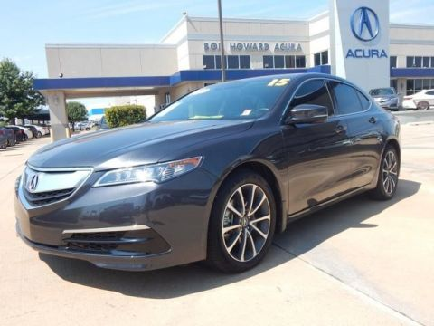Certified Pre-Owned 2015 Acura TLX 3.5 V-6 9-AT SH-AWD with Technology Package Sedan