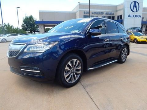 Certified Pre-Owned 2015 Acura MDX with Technology Package SUV