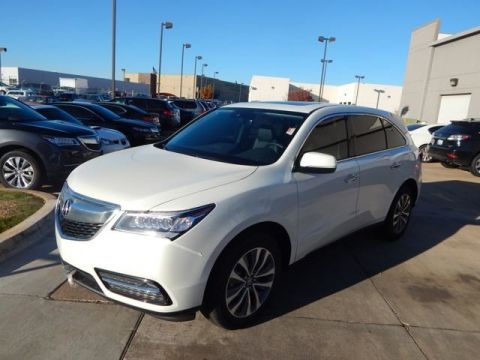 Certified Pre-Owned 2016 Acura MDX w/Tech/AcuraWatch Plus SUV