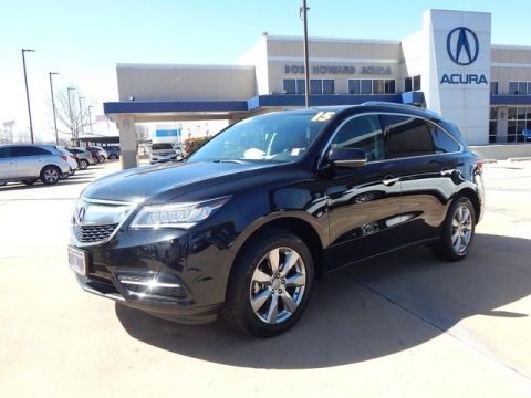 Pre-Owned 2015 Acura MDX | CLEAN CAR FAX | ONE OWNER | CERTIFIED | ADVANCE PACKAGE WITH ENTERTAINMENT | SUV