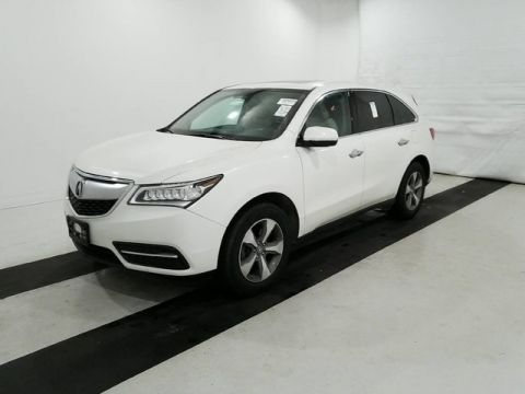 Pre-Owned 2015 Acura MDX MDX | 3RD ROW | LEATHER | ALL WHEEL DRIVE! AWD