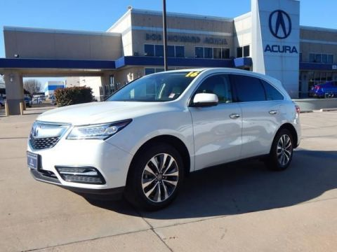 Certified Pre-Owned 2016 Acura MDX SH-AWD SH-AWD with Technology Package SUV