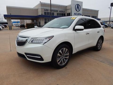 Certified Pre-Owned 2016 Acura MDX SH-AWD with Technology and AcuraWatch Plus Packages SUV