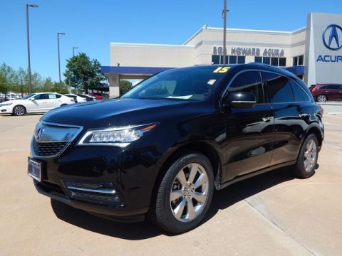 Certified Pre-Owned 2015 Acura MDX SH-AWD with Advance and Entertainment Packages SUV