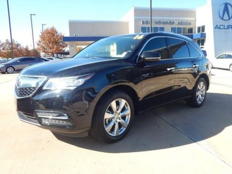 Certified Pre-Owned 2016 Acura MDX SH-AWD with Advance and Entertainment Packages SUV