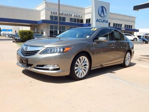 Certified Pre-Owned 2015 Acura RLX with Technology Package Sedan
