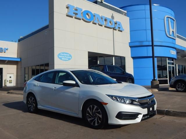 Pre-Owned 2016 Honda Civic Sedan EX | SUNROOF | ALLOYS | TOUCHSCREEN | 405-753-8700 | Honda STORE!