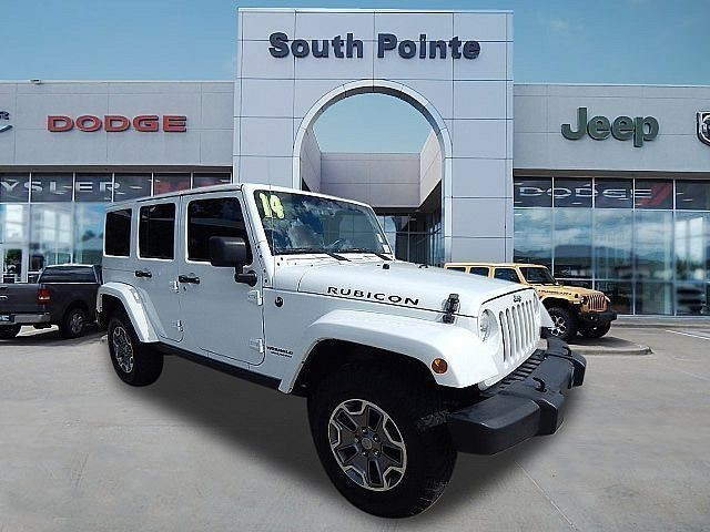 Pre-Owned 2014 Jeep Wrangler Unlimited Rubicon | LEAHER | NAV | SOUTH POINTE CJD