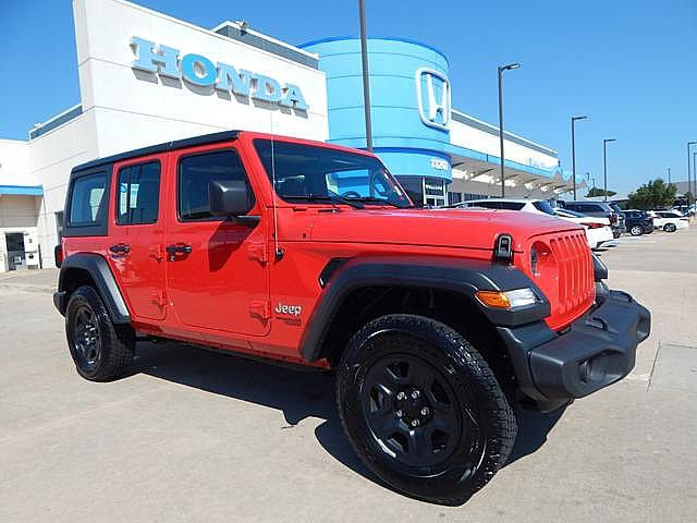 Pre-Owned 2019 Jeep Wrangler Unlimited Sport | BH Honda! | 405-753-8700
