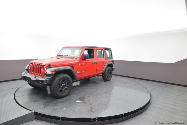 Pre-Owned 2019 Jeep Wrangler Unlimited Sport | BOB HOWARD DODGE 405-936-8900