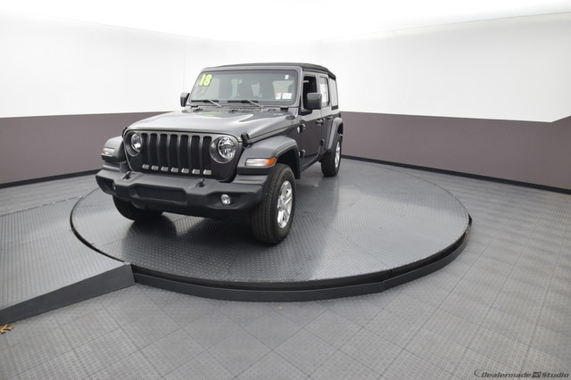 Pre-Owned 2018 Jeep Wrangler Unlimited Sport S | BOB HOWARD DODGE 405-936-8900