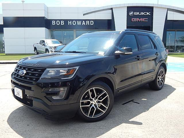 Pre-Owned 2016 Ford Explorer Sport 4X4 | BOB HOWARD BUICK GMC 405.936.8800 | LOADED | NAV | MOONROOF | HEATED LEATHER | 1OWNER CLEAN CARFAX