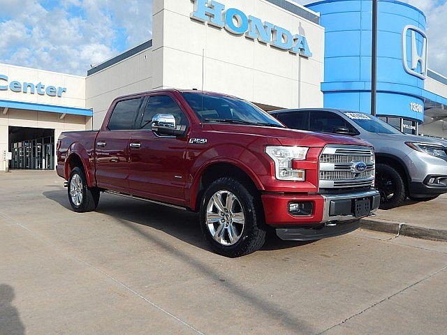 Pre-Owned 2015 Ford F-150 Platinum | BH Honda! | 405-753-8700 | BAD BOY! | ALL OPTIONS!
