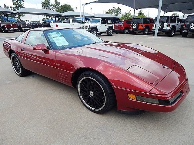 Pre-Owned 1994 Chevrolet Corvette Targa Top***DUAL ROOFS***LOW MILES***SP CHEVY 918-481-8000