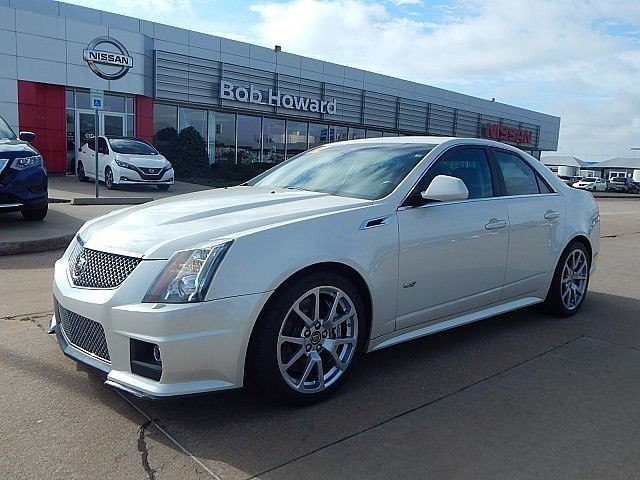 Pre-Owned 2012 Cadillac CTS-V SEDAN l BOB HOWARD NISSAN