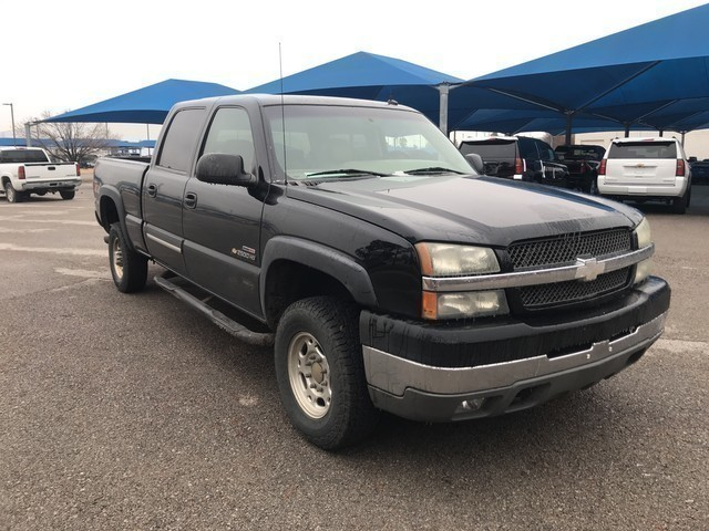 Pre-Owned 2003 Chevrolet Silverado 2500HD **DIESEL***LT***4X4***WORK TRUCK***