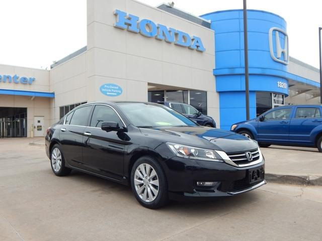 Pre-Owned 2015 Honda Accord Sedan EX-L | NAVIGATION | LEATHER | CALL 405-753-8700 | Honda STORE!