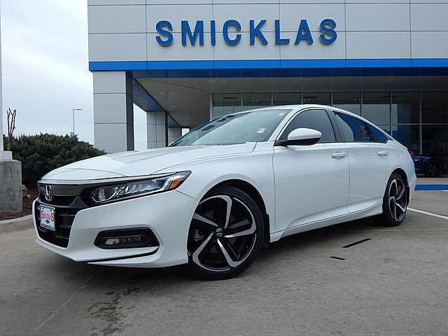 Pre-Owned 2018 Honda Accord Sedan Sport 1.5T!! Super Clean!! 1 Owner!! Clean Car Fax!!