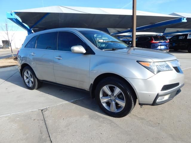 Pre-Owned 2012 Acura MDX Tech Pkg | AWD | NAVIGATION | MOONROOF | LEATHER | GREAT VALUE!