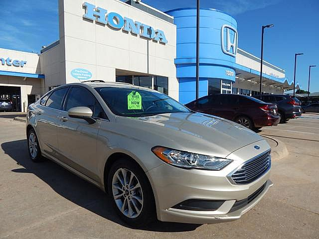 Pre-Owned 2017 Ford Fusion SE | BH Honda! | 405-753-8700