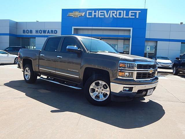 Pre-Owned 2014 Chevrolet SILVERADO LTZ | BOB HOWARD CHEVROLET 405-748-7700 | LEATHER | BLUETOOTH | Z71 4X4 | BACK UP CAMERA | HEATED SEATS |