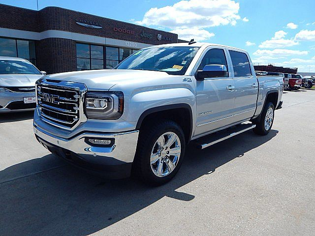 Pre-Owned 2018 GMC Sierra 1500 SLT | BOB HOWARD DODGE 405-936-8900