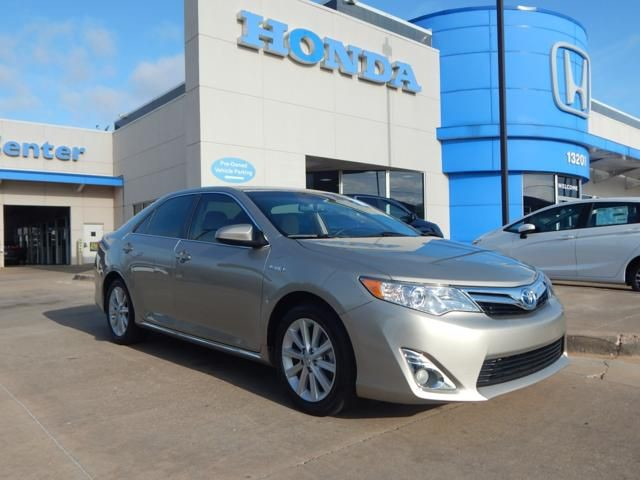 Pre-Owned 2014 Toyota Camry Hybrid XLE | 405-753-8700 | HONDA STORE! | NAVIGATION! | SUNROOF!