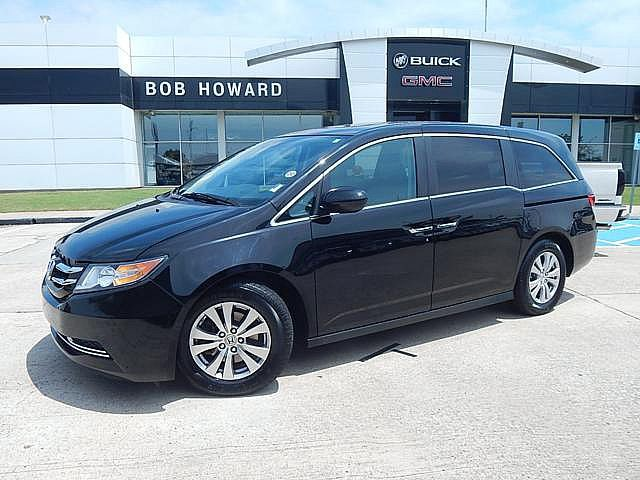 Pre-Owned 2015 Honda Odyssey EX-L | BOB HOWARD BUICK GMC 405.936.8800 | LEATHER | GOOD MILES | ALLOYS |