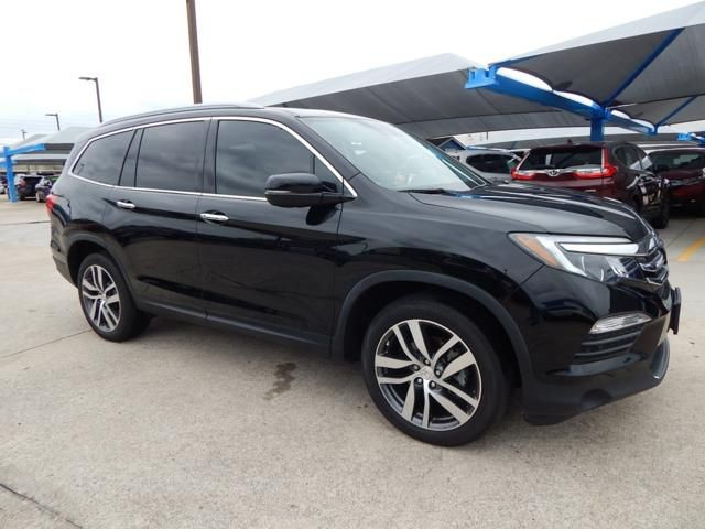 Pre Owned 2017 Honda Pilot Elite South Pointe 918 491 0100 Loaded Awd Navigation Dvd Captain S Chairs 1 Owner Certified