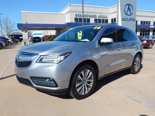 Certified Pre-Owned 2016 Acura MDX | CERTIFIED | ONE OWNER | CLEAN CAR FAX |