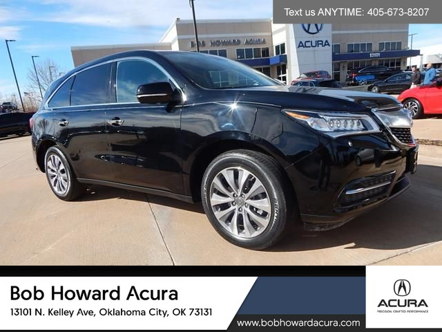 Pre-Owned 2015 Acura MDX | SH-AWD | TECHNOLOGY PACKGAE | NAVIGATION | BLIND SPOT AWARENESS | THIRD ROW |