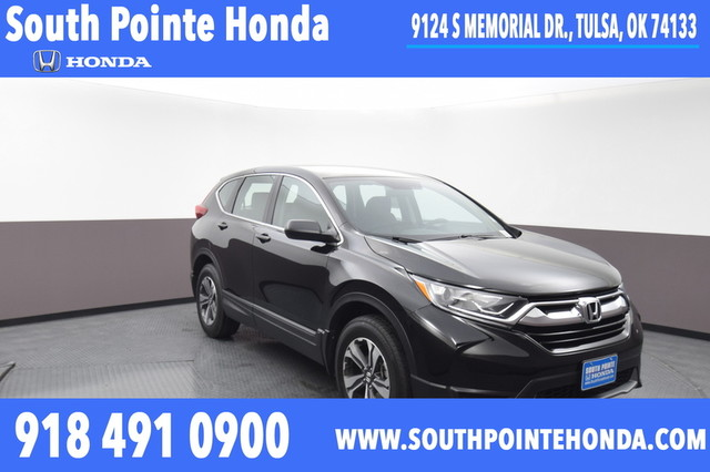 Pre-Owned 2019 Honda CR-V LX AWD SP Honda 918-491-0100