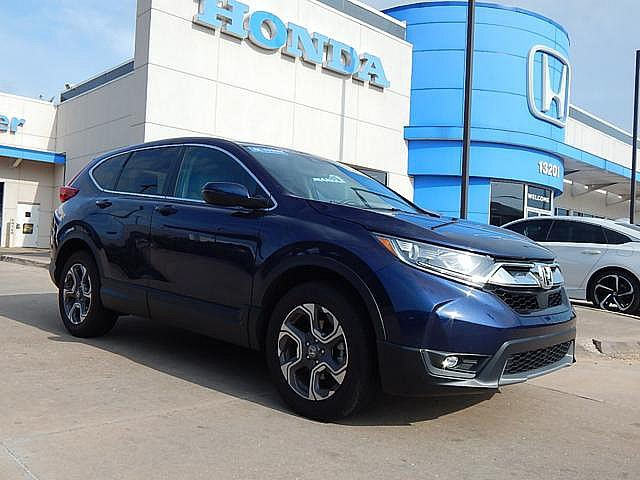 Pre-Owned 2018 Honda CR-V EX-L | NAVIGATION | CERTIFIED! | BH Honda! | 405-753-8700