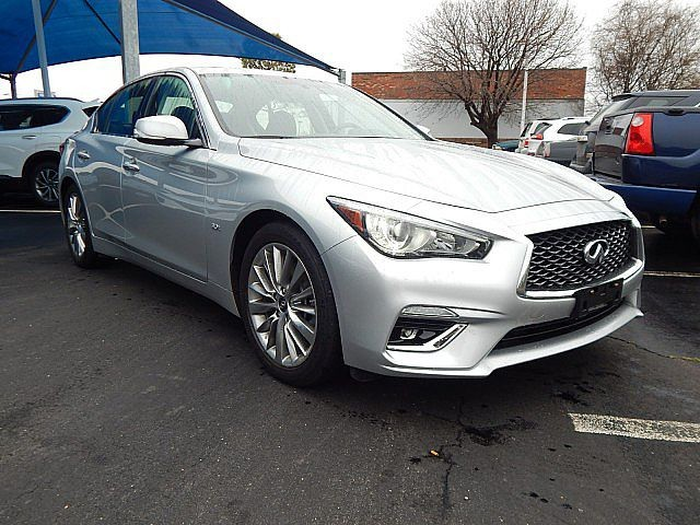 Pre-Owned 2018 INFINITI Q50 3.0t LUXE | NAVIGATION | LEATHER | 405-634-8900 | BH Hyundai!