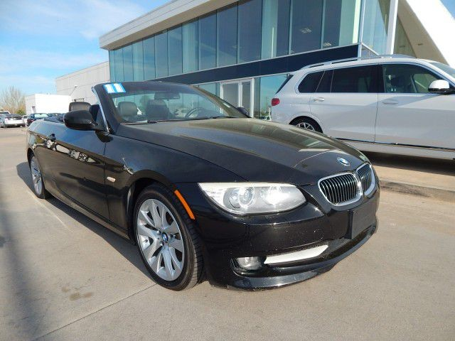 Pre-Owned 2011 BMW 3 Series 328i**HARD TOP CONVERTIBLE!**