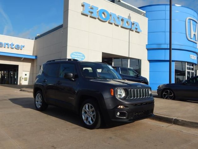 Pre-Owned 2018 Jeep Renegade Latitude | 405-753-8700 | HONDA STORE!