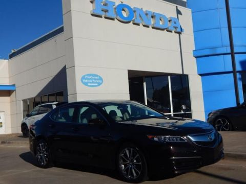 Pre-Owned 2016 Acura TLX V6 Tech | NAVIGATION | LEATHER | LUXURY! | 1 OWNER!