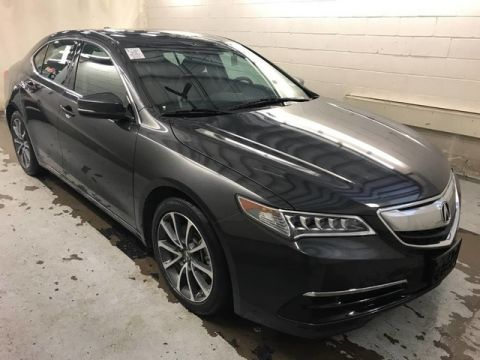 Pre-Owned 2016 Acura TLX V6 Tech | NAVIGATION | LEATHER | LUXURY | CLEAN 1 OWNER!