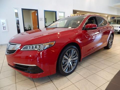 Pre-Owned 2017 Acura TLX |V6 TECH | ACURA ACCESSORIE WHEELS | SERVICE LOANER | Sedan