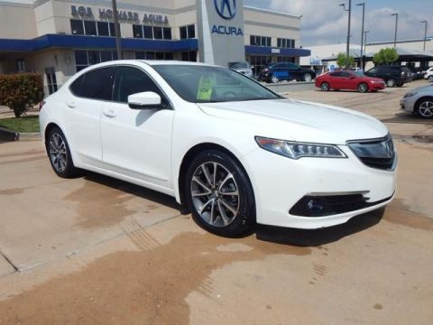 Certified Pre-Owned 2015 Acura TLX 3.5 V-6 9-AT P-AWS with Advance Package Sedan