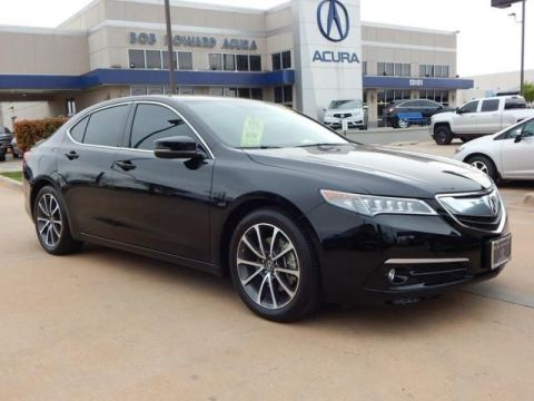 Certified Pre-Owned 2015 Acura TLX 3.5 V-6 9-AT SH-AWD with Advance Package All Wheel Drive 4dr Car
