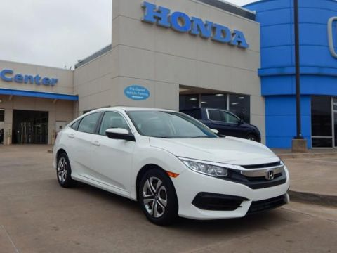 Pre-Owned 2016 Honda Civic Sedan LX | 405 -753-8700 | Honda STORE!