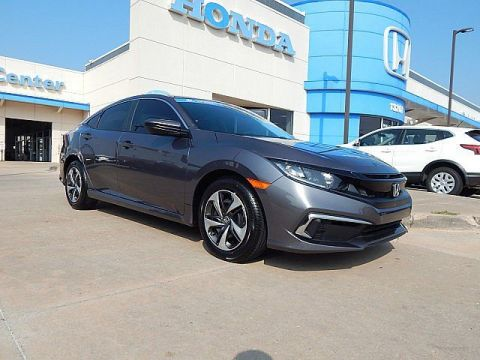 Pre-Owned 2019 Honda Civic Sedan LX | BH Honda | 405-753-8700