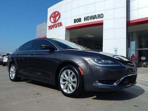 Pre-Owned 2015 Chrysler 200 C***CALL BH TOYOTA**LOW PAYMENTS**405-936-8600**