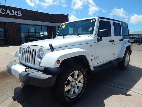 Pre-Owned 2016 Jeep Wrangler Unlimited 75th Anniversary | BOB HOWARD DODGE 405-936-8900 | LEATHER | ALLOYS | POWER PACK | CERTIFIED | HARD TOP