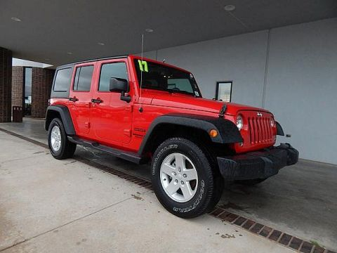 Pre-Owned 2017 Jeep Wrangler Unlimited Big Bear | BOB HOWARD DODGE 405-936-8900 | HARD TOP | ALLOYS | POWER PACK