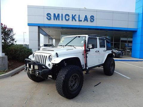 Pre-Owned 2012 Jeep Wrangler Unlimited Rubicon| TONS OF EXTRAS!!