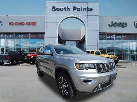 Pre-Owned 2018 Jeep Grand Cherokee Limited | LEATHER | APPLE CAR PLAY | CLEAN CARFAX | SOUTH POINTE CJD